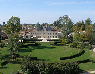 Lussac, Gironde - Chateau