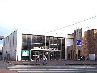 Chatou–Croissy station - Chatou – Croissy station