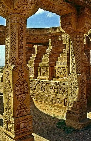 Chaukhandi tombs - Chaukhandi tomb in southeast Pakistan.