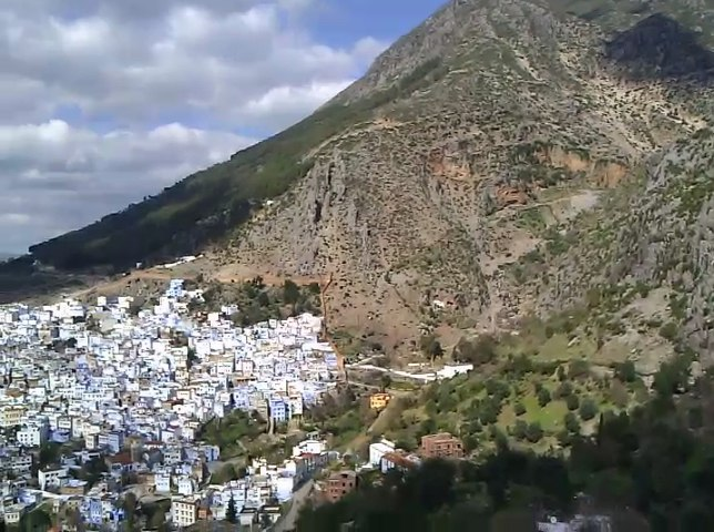 Chefchaouen, view , Morocco