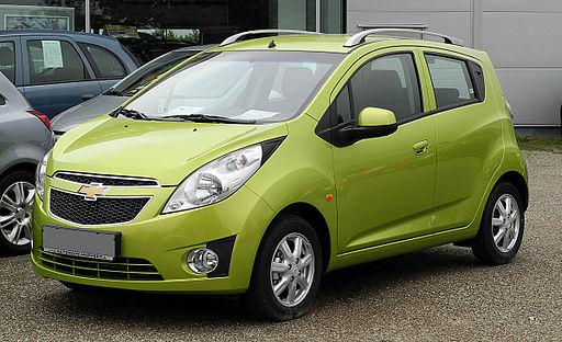 Chevrolet Spark LS+ 1.2 – Frontansicht, 26. Juni 2011, Mettmann