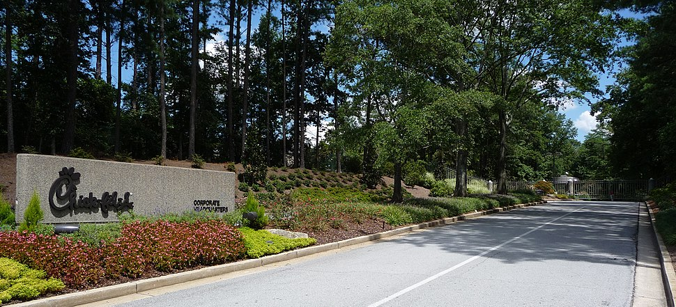Chick-fil-A Corporate HQ - Entrance