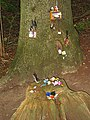 Children's shrine to the fairies, National Trust ,Hamble - geograph.org.uk - 219974.jpg