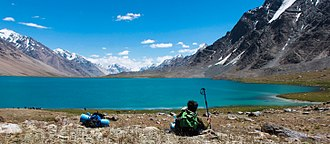 Karambar Lake - Karambar Lake is the second highest lake in Pakistan.