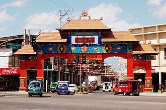 Davao Chinatown - Arch of Friendship in Uyanguren, Davao City