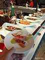 Chinese-Japanese (C&J) Life style in Dalian series - 1st Sashimi in a team.jpg