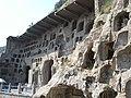 Chiny Luoyang groty z rzezbami wotywnymi Longmen Shiku - Smoczych Wrot i okolice 06.JPG