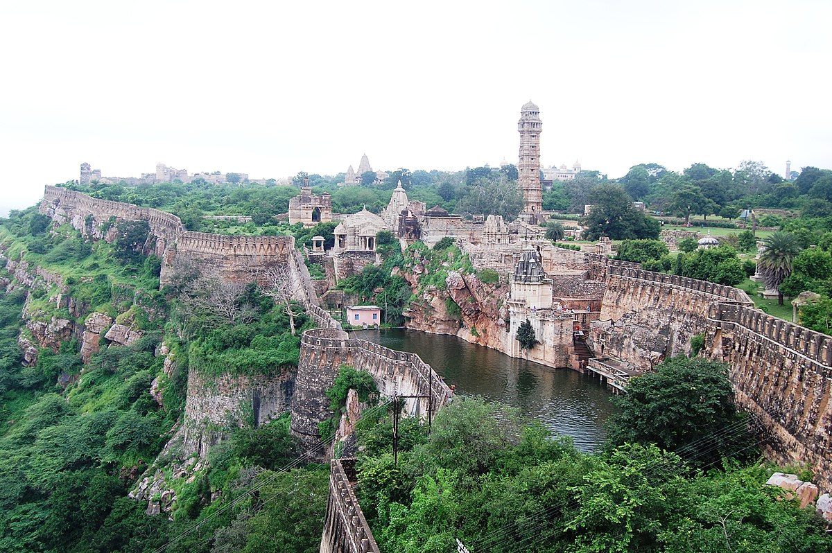 Image result for Fort of Chittorgarh