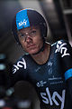 Chris Froome - The First Man to Cycle through the Eurotunne (14406884438).jpg