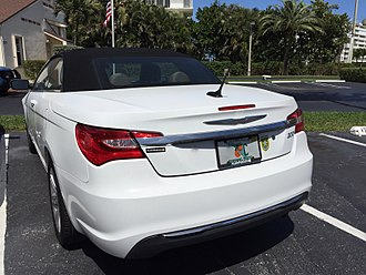 Chrysler 200 - Chrysler 200 convertible