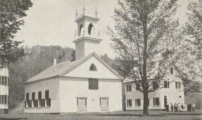 Church & School, Washington, NH