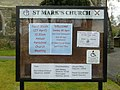 Church noticeboard - geograph.org.uk - 807326.jpg