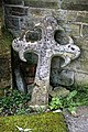 Church of St Andrew, Nuthurst, West Sussex - displaced chancel gable cross finial.jpg