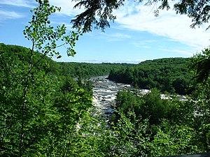 "Batiscan River - ""Chutes des Ailes"" in Saint-Narcisse"