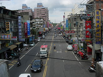 Township (Taiwan) - Zhudong, an urban township in Hsinchu County.
