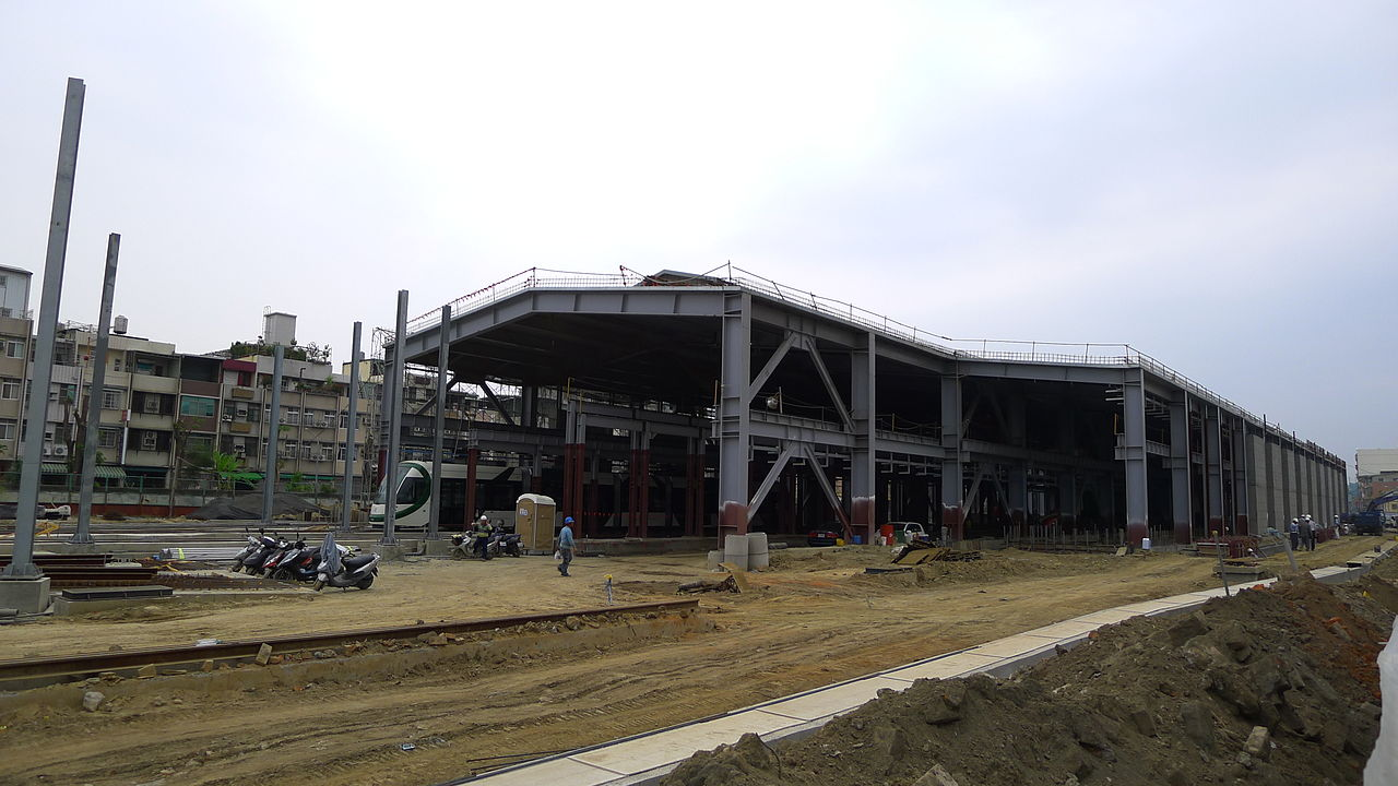 file cianjhen depot under construction north march 9 2015 jpg wikimedia commons. Black Bedroom Furniture Sets. Home Design Ideas