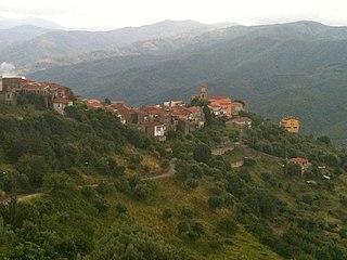 Cicerale Comune in Campania, Italy