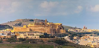 Invasion of Gozo (1551) - The Cittadella of Gozo today.