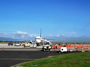 City of Derry Airport - Apron view