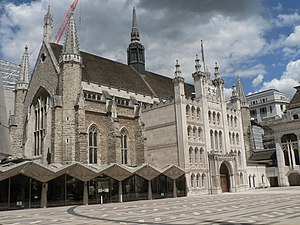 English: City of London: Guildhall