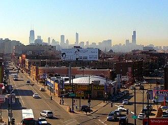 Clark Street (Chicago) - Image: Clark & Halsted (3471573791)