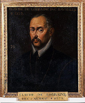 Claude, Duke of Aumale - Claude, Duke of Aumale