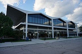 Cleveland Burke Lakefront Airport - Cleveland Burke Lakefront Airport's terminal