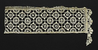 Needlepoint (Reticella) and Bobbin Lace Insertion and Edging