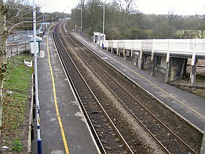 Clifton, Greater Manchester - Clifton railway station.