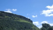 File:Clip of Timelapse of clouds over Arthur s Seat (Source).webm