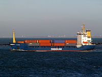 Clontarf leaving Port of Rotterdam 29-Jan-2006.jpg
