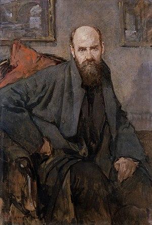 Albert Baertsoen - Portrait of Albert Baertsoen by André Cluysenaar