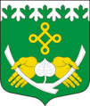 Coat of Arms of Kostomuksha.png