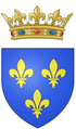 Arms as Duke of Burgundy