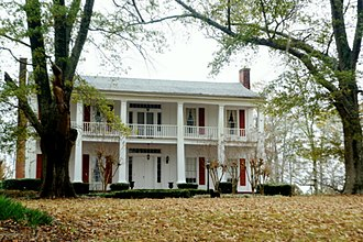 National Register of Historic Places listings in Attala County, Mississippi - Image: Col. J. K. Coffey House built in 1854