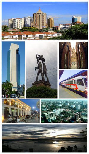 Santa Cruz de la Sierra - Image: Collage Santa Cruz