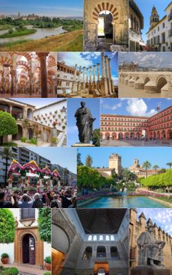 Collage de la ciudad de Córdoba, Andalousie, España.png