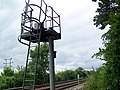 Colour light signal by railway line - geograph.org.uk - 881957.jpg