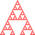 Combinations Cellular Automata XOR Sierpinski Triangle.png