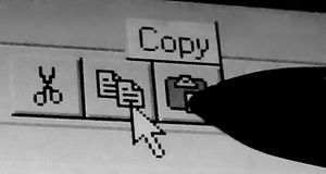 Compaq Concerto - The Compaq Concerto pen could control the pointer from 1 cm away, so that the tooltip text could be displayed when the pen was 1 cm away from clicking.