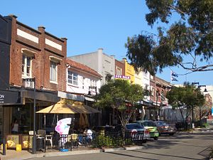 Concord, New South Wales - Image: Concord Majors Bay Road 2