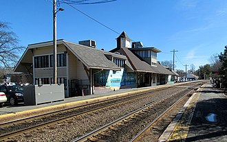 Concord station (Massachusetts) - Concord station in March 2016