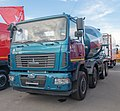 Concrete mixer on MAZ chassis (01).jpg