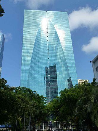 Brickell Arch - Image: Conrad, a Miami hotel