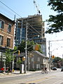 Construction at NW corner of King and Parliament, 2012 06 29 -c.jpg