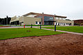 Construction of a fitness center continues Oct. 4, 2013, at Spangdahlem Air Base, Germany. The center was scheduled to be completed by November 2013 131004-F-OP138-002.jpg