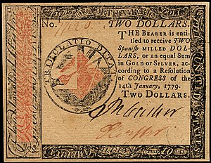 Continental Currency $2 banknote obverse (January 14, 1779).jpg