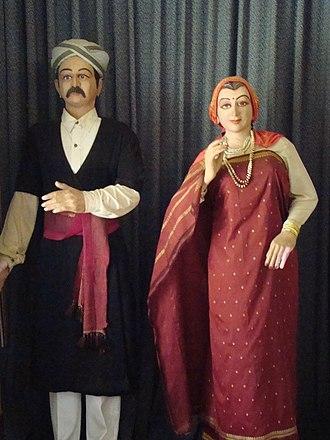 Kodava people - Dolls in Kodava attire
