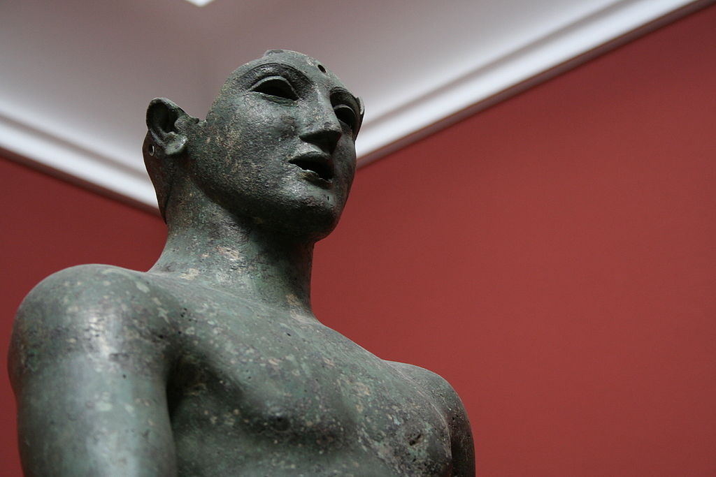 > Bronze d'un jeune Grec (Sicile -460 avant JC) au Ny Carlsberg Glyptotek à Copenhague. Photo de Mauro Terzi