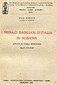 Copertina Nilo Borgia, I monaci Basiliani d'italia in Albania.jpg